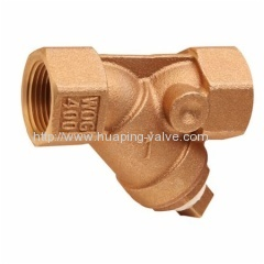 Threaded Bronze Y-strainer Valve