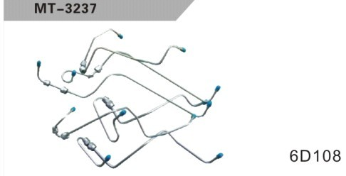 6D108 NOZZILE PIPING FOR EXCAVATOR
