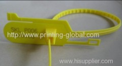 Hot stamping plastic lable