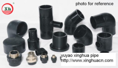 2013 hot sale HDPE fittings Elbow Tee from China