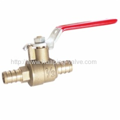100 psi at 180°F lead free Brass Ball Valve
