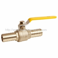 Lead Free Pex Brass Ball Valve hose barb