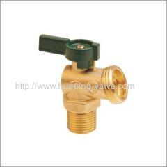 Easy Quarter Turn Operation Brass Boiler Drain Valve