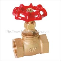 In coming Materials Inspection Brass Stop Valves