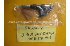 VH23670E0010 injector nozzle ass'y SK350-8 J08E Hino