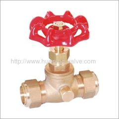 Brass Stop and Waste Valve Compression