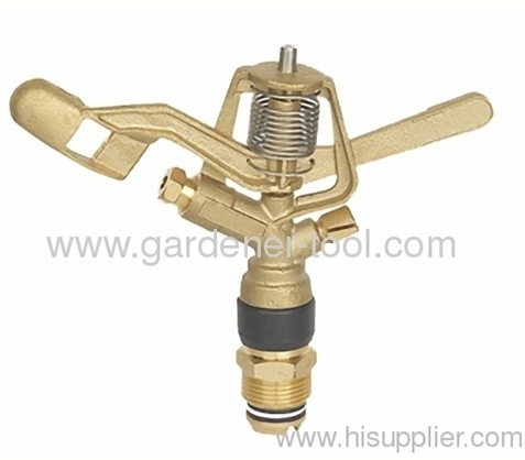 Brass Garden Irrigation Water Sprinkler With G3/4Male Thread Tap