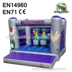 Champagne Jumping House for sale