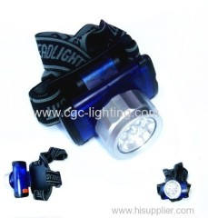 Dry battery LED head lamps