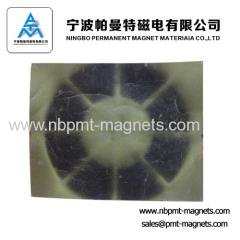 multipole magnet for motor and sensor