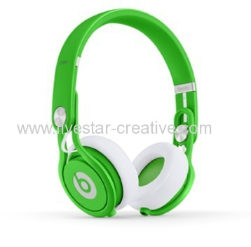 Beats by Dre Neon Green Mixr Limited Edition--on-ear Headphones David Guetta