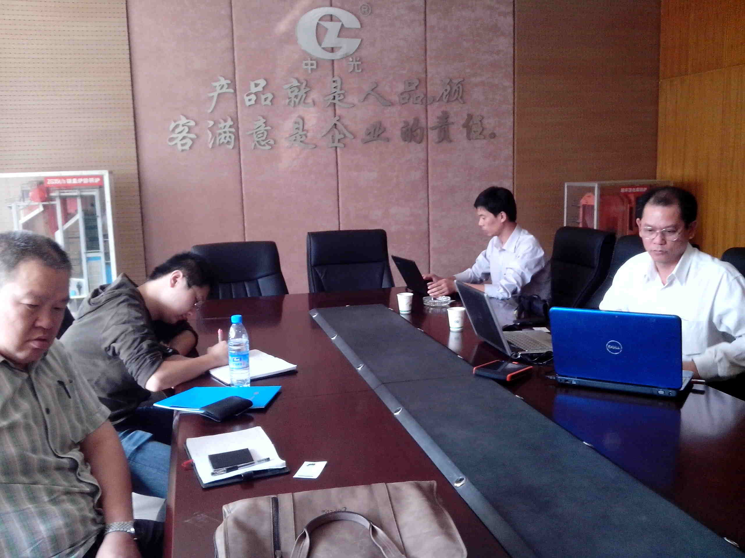 Visting of Cambodia Customers