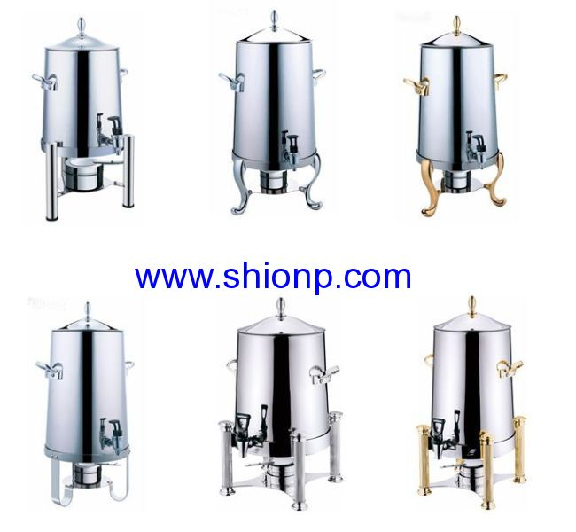 5 GAL COFFEE URN with chrome leg