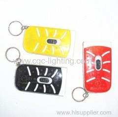 Key chain LED flash light