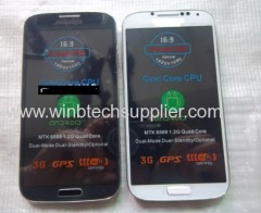 5inch I9500 quad core cell phone unlocked gsm 850 900 1800 1900mhz