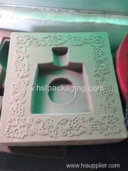cosmetic high grade flocking packaging box