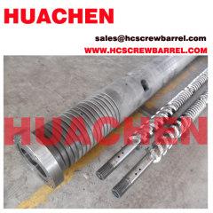 KMD Parallel twin screw barrel