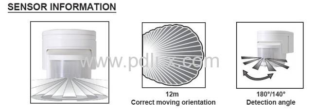 HF Infrared motion sensor