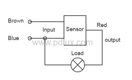 Схема подключения light sensor