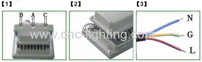 5W-10W IP65 waterproof COB led floodlight
