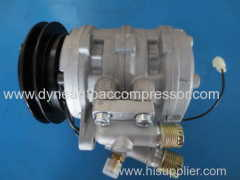 dyne auto air conditioning compressors manufacturers 10P08 117.5MM A1 for BRAZIL GOL / PAKISTAN SUZUKI DY180102