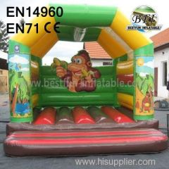 Cute Monkey Inflatable Bouncer