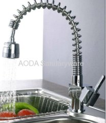 Single Handle Kitchen faucet with extractable head
