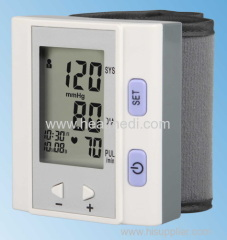 wrist type fully automatic blood pressure monitor BPM-202N