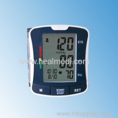 automatic wrist type blood pressure monitor