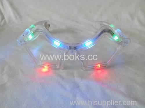 led flashing party glasses