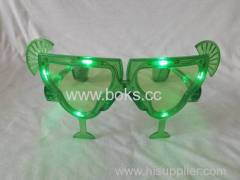 wineglass shape party glasses 2014 led party glasses