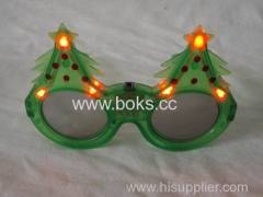 led flashing party glasses Christmas tree party glasses
