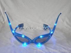 Led horn rimmed glasses 2013 plastic party glasses