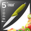 Cutleries Ceramic Utility Knife with Knife Block