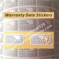 Destructive Warranty Security Label Sticker