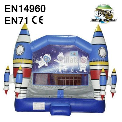 Inflatable Rockets Castle for sale