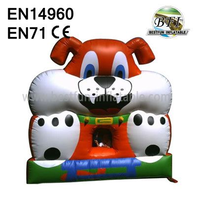 Inflatable Dog Bouncer for baby