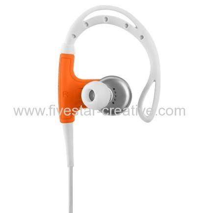 Beats by Dr.Dre-Powerbeats by Dr.Dre Clip-on Earbud Headphones Neon Orange