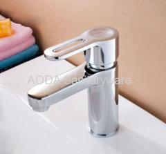 Single lever wash baisnfaucet mixer