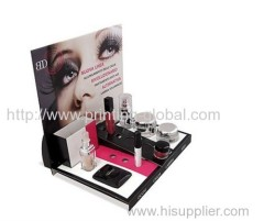 Heat transfer film for beautiful and elegant cosmetic display stand holder