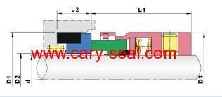john crane type 9 PTFE Wedge Mechanical Seals