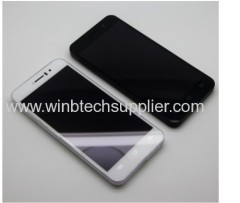 JIAYU G4 Advanced 2G 32G 3000mAh black and white color MTK6589T smartphone Quad Core Android mobile phone made in china