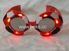 Football Shape LED glasses