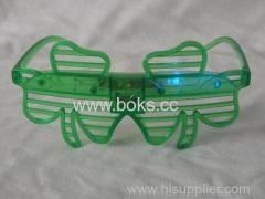 clover shape party glasses