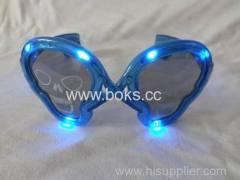 skull shape party glasses 2014 led plastic party glasses