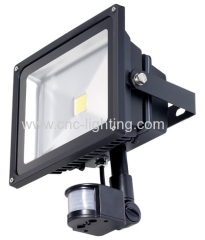 LED Floodlight with photocell