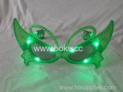 butterfly shape party glasses 2014 led party glasses