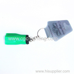 creative mini keychain flash light