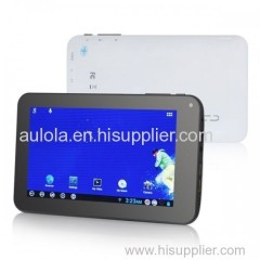 """7"""" 4GB White Multi Touch Android 4 HD Tablet PC - Aulola"""
