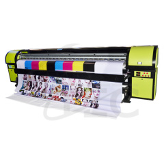 dx7 photo digital print machine price for flex banner sticker vinyl